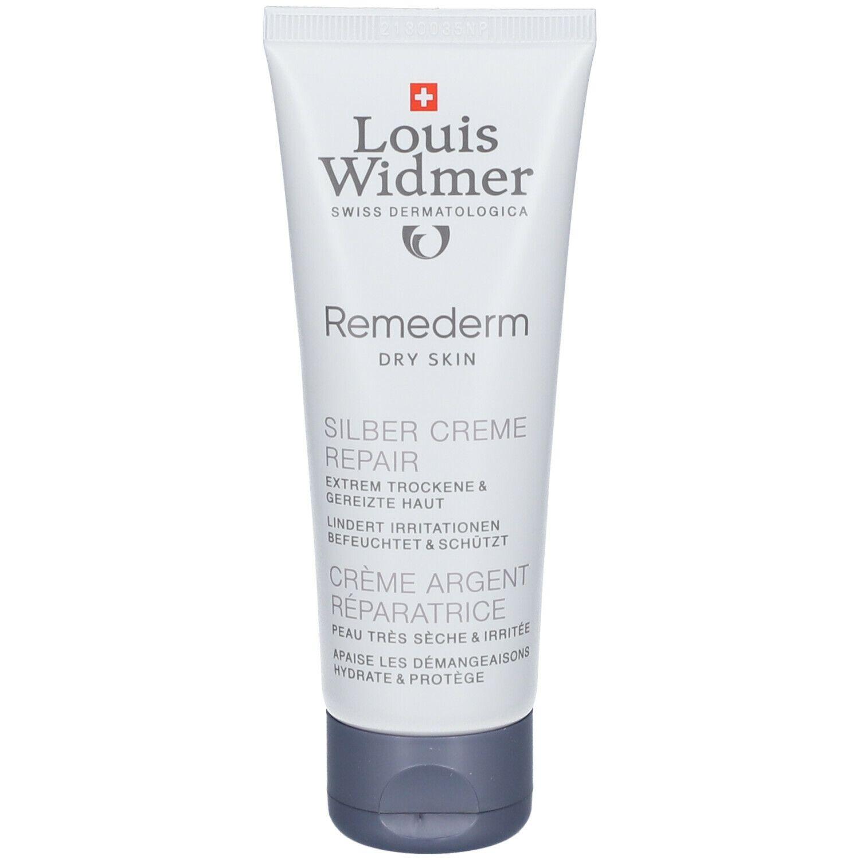 Louis Widmer Remederm Crème Argent Réparatrice sans parfum
