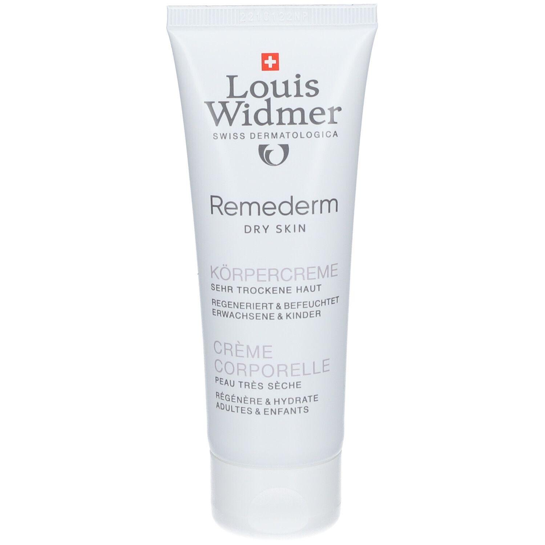 Louis Widmer Remederm Crème Corporelle sans parfum