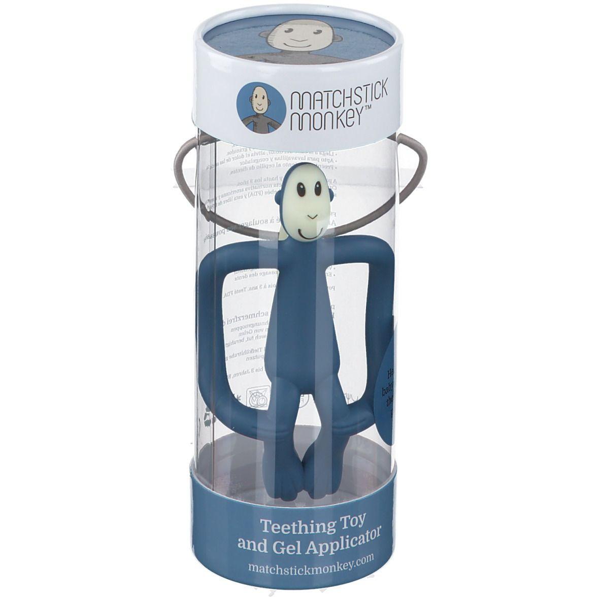 Matchstick Monkey Anneau de dentition Bleu ciel