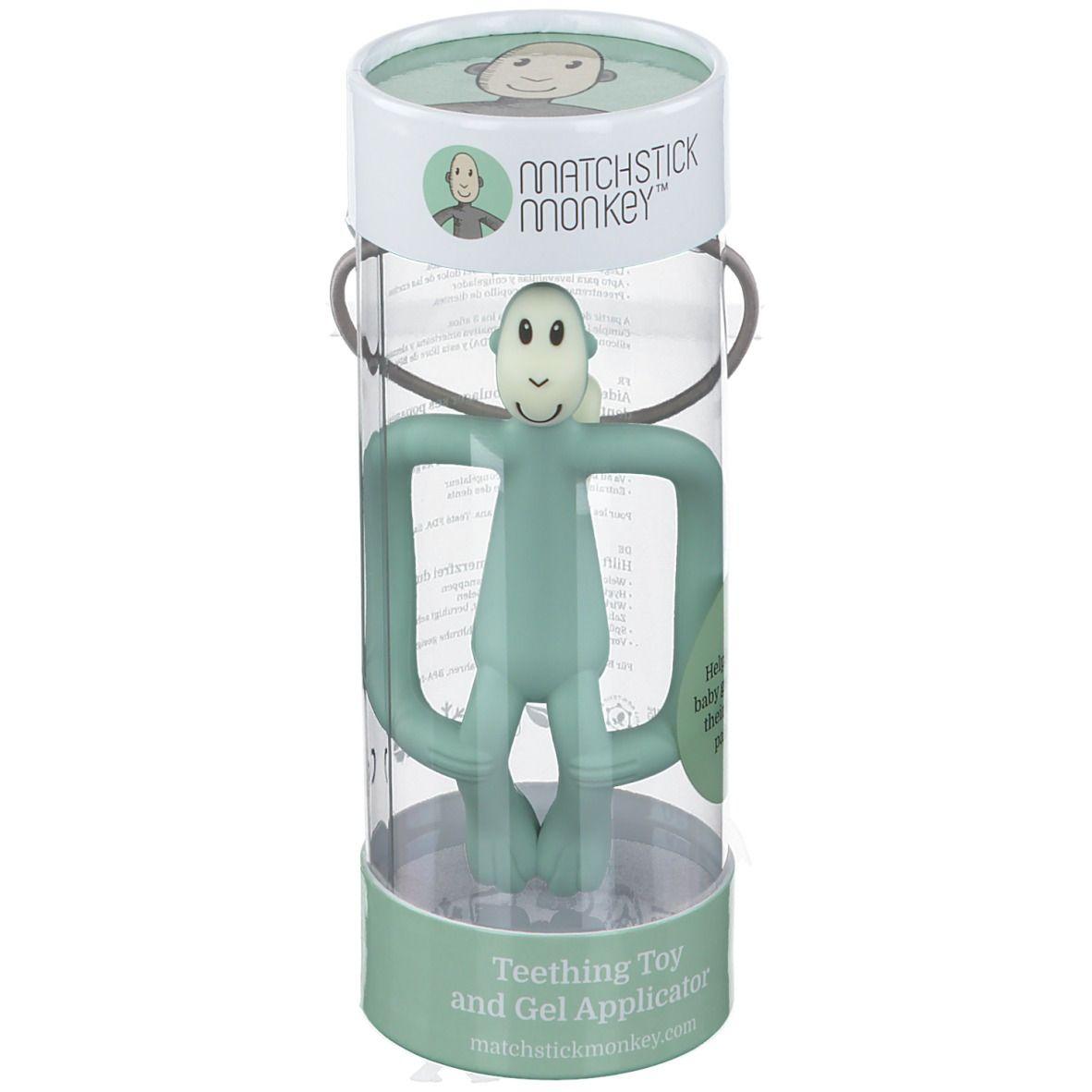 Matchstick Monkey Anneau de dentition Vert menthe