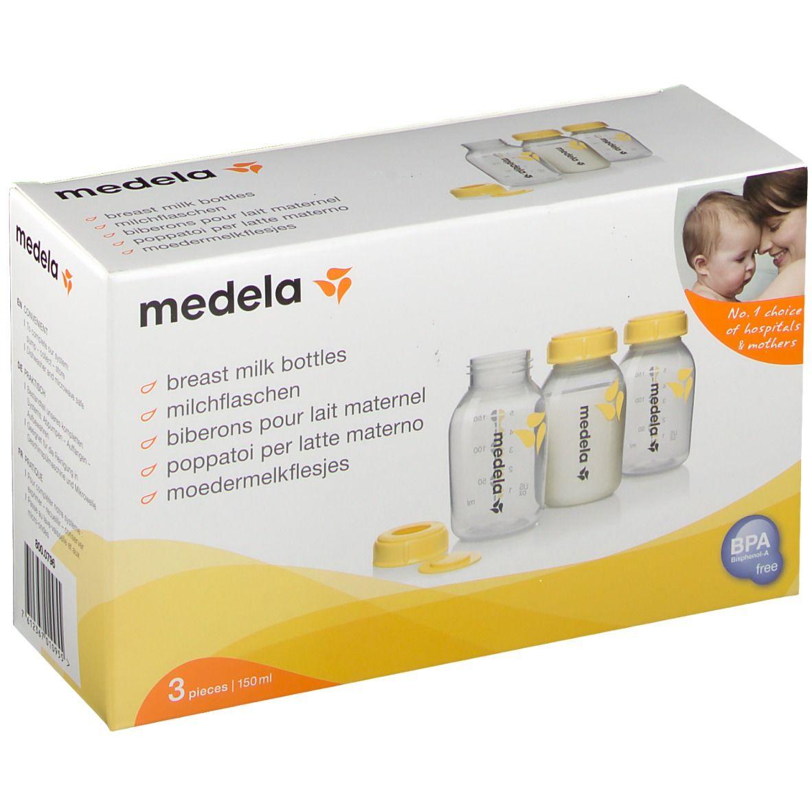 medela® Biberon pour lait maternel 3 x 150 ml