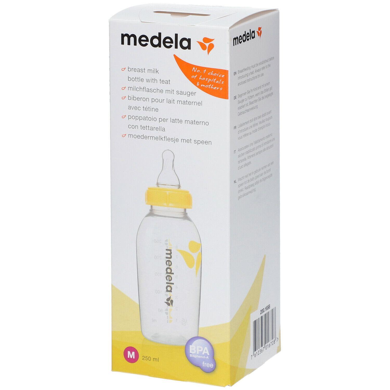 Medela Biberon pour lait maternel avec tétine 250 ml