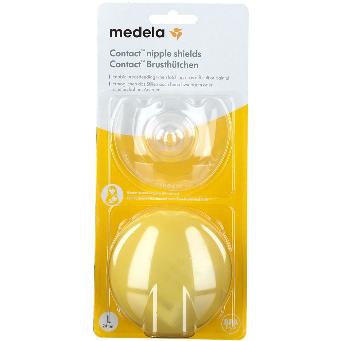 medela® Bout de sein contact® L