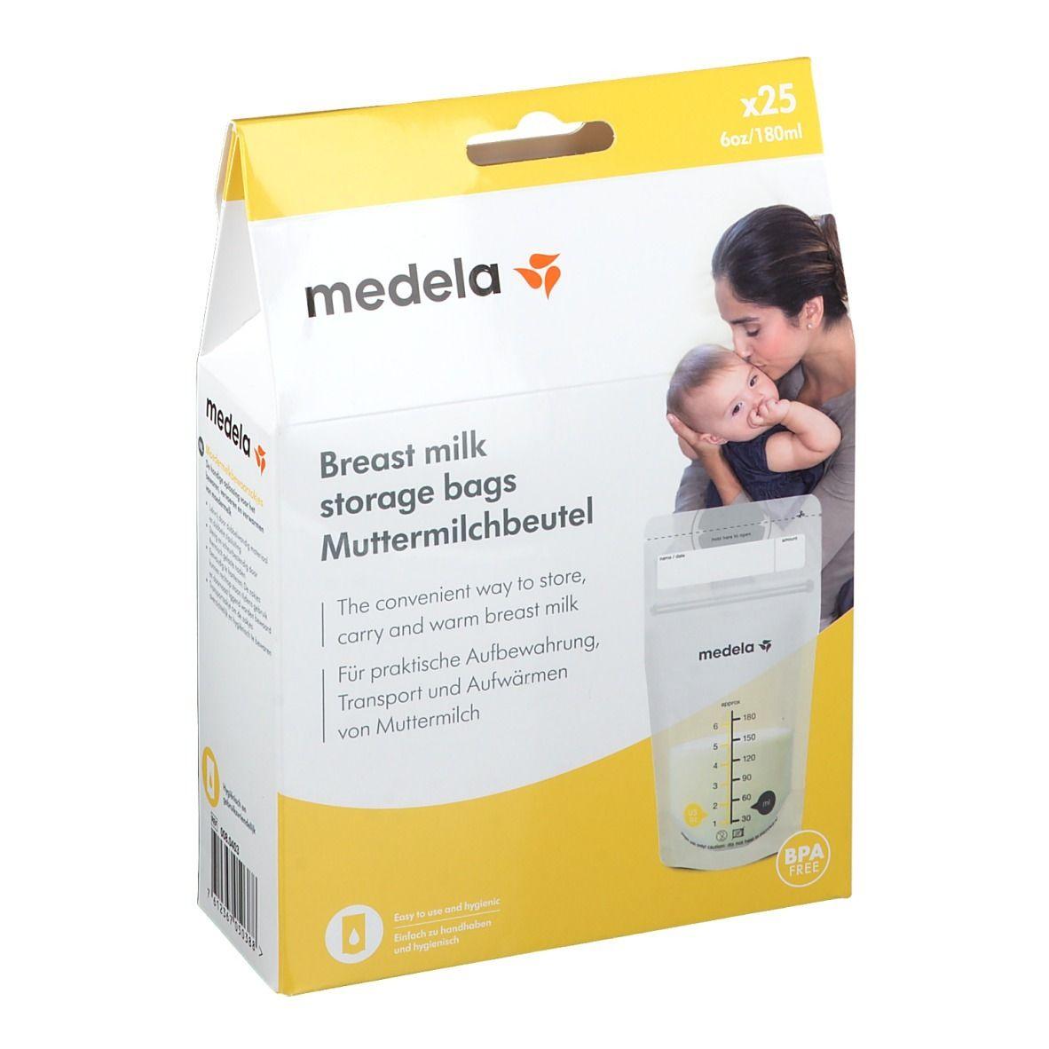 medela® Sachets de conservation pour lait maternel