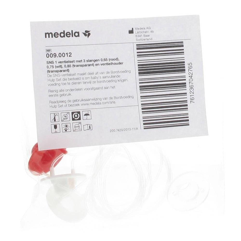 Medela Set de valves pour système de nutrition supplémentaire