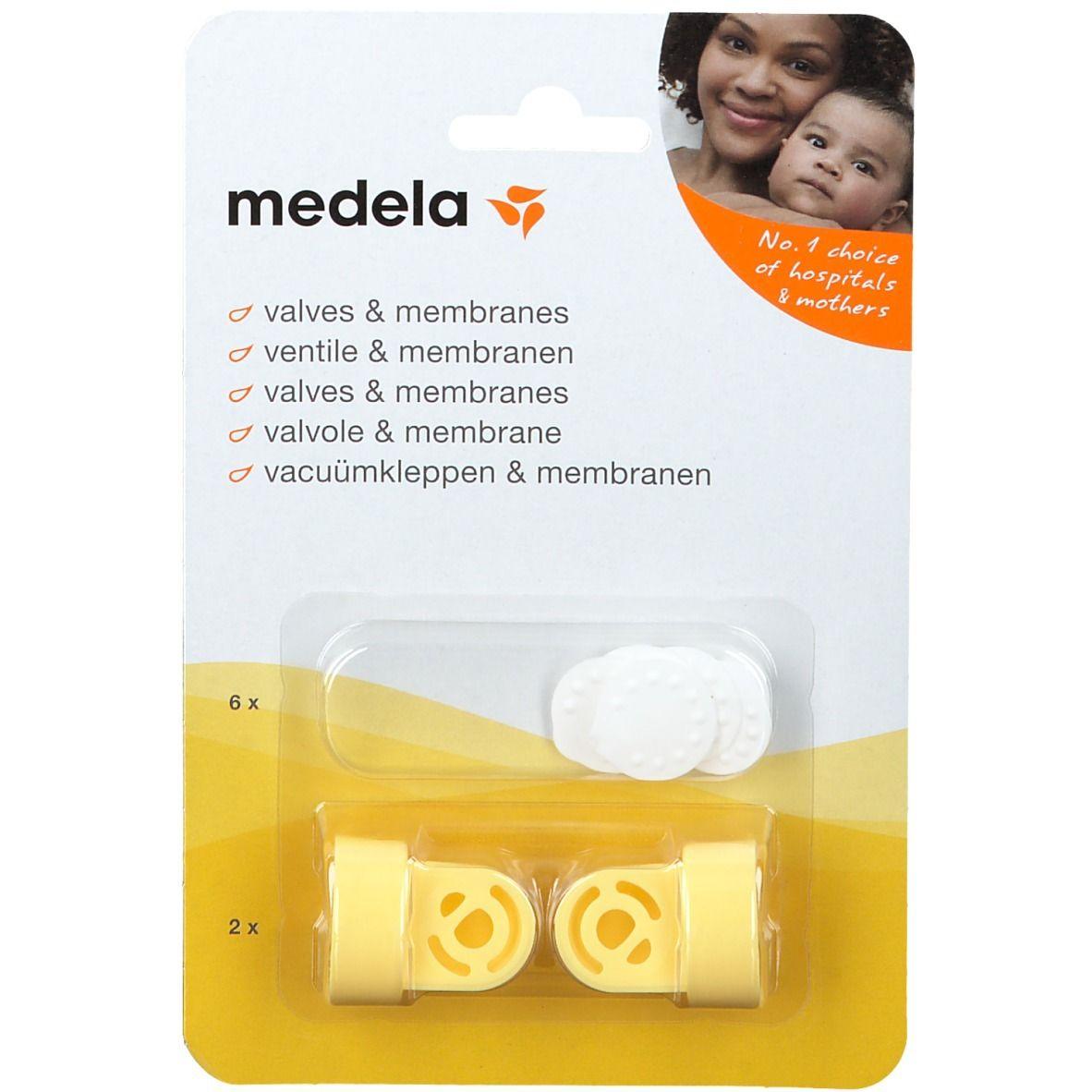 medela Valves & membranes pour la Téterelle Comfort