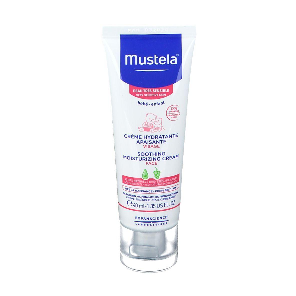 mustela® Crème hydratante apaisante