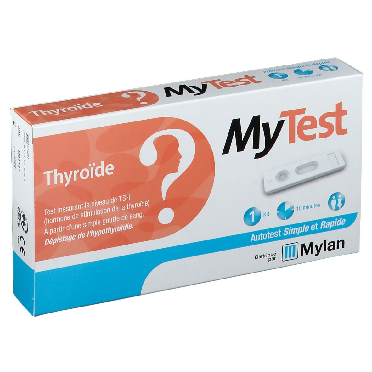 MyTest Thyroïde Test