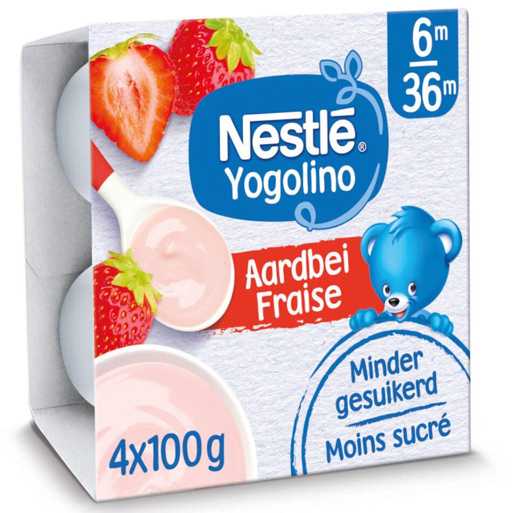 Nestlé® Baby Yogo Fraise