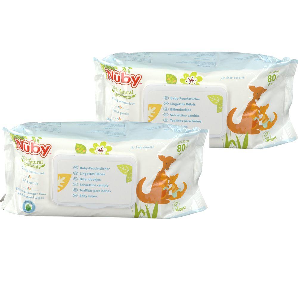 Nuby Citroganix Lingettes Duopack