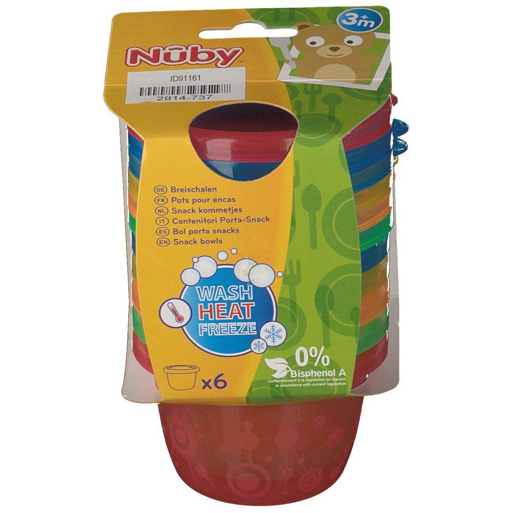 Nuby Pots pour encas - 120 ml - 3m+