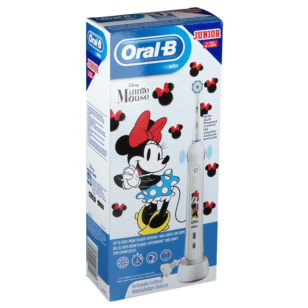 Oral-B Kids Minnie Mouse Brosse à dents électrique