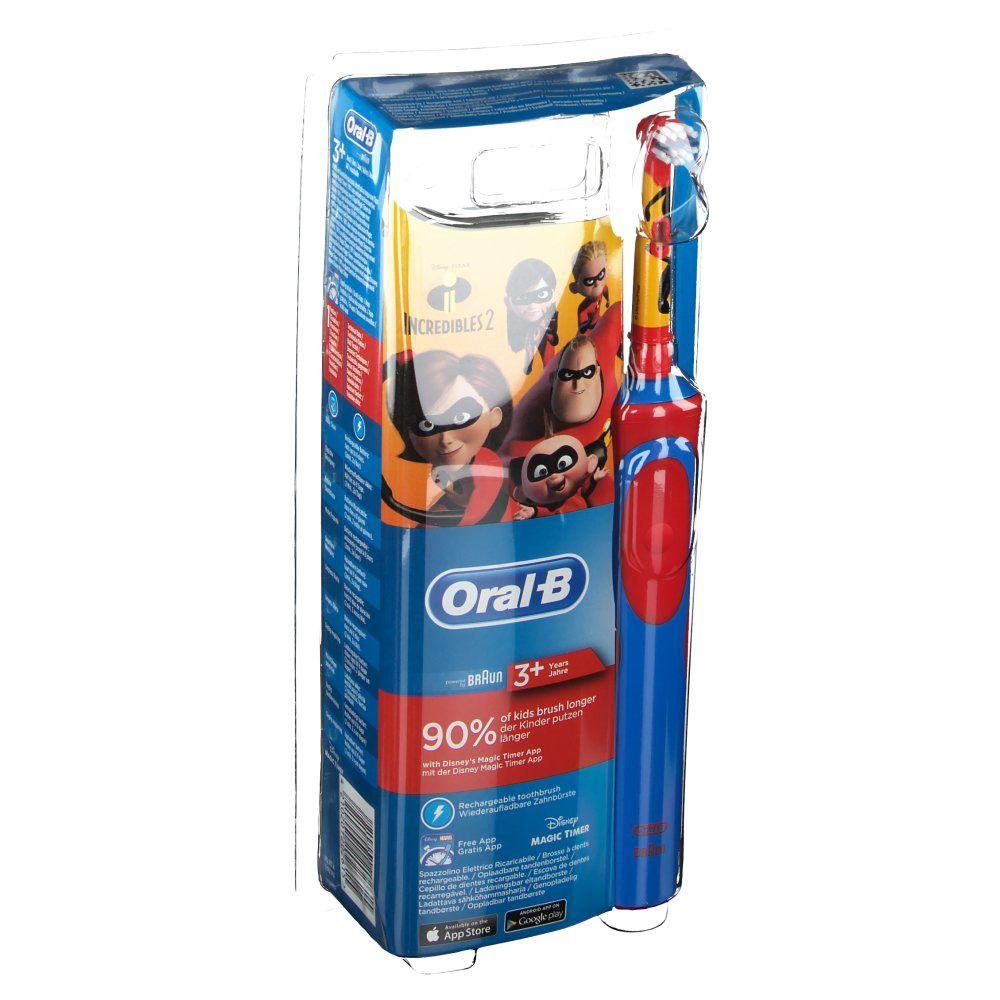 Oral-B Stages Power Incredibles 2 brosse à dents électrique rechargeable enfants