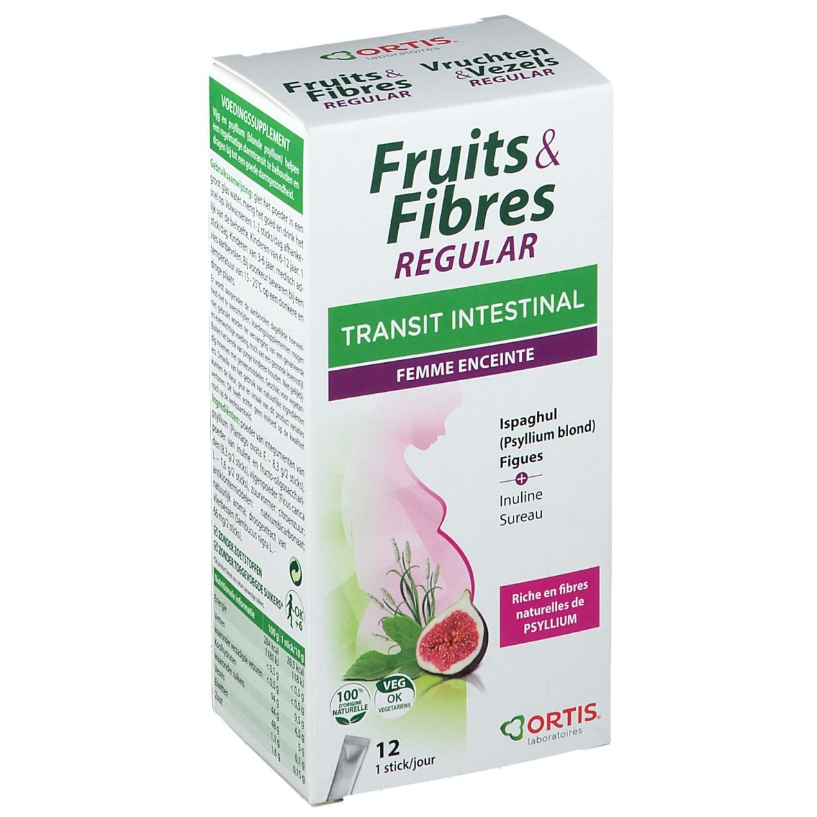 ORTIS® Transit intestinal Fruits & Fibres Regular femme enceinte