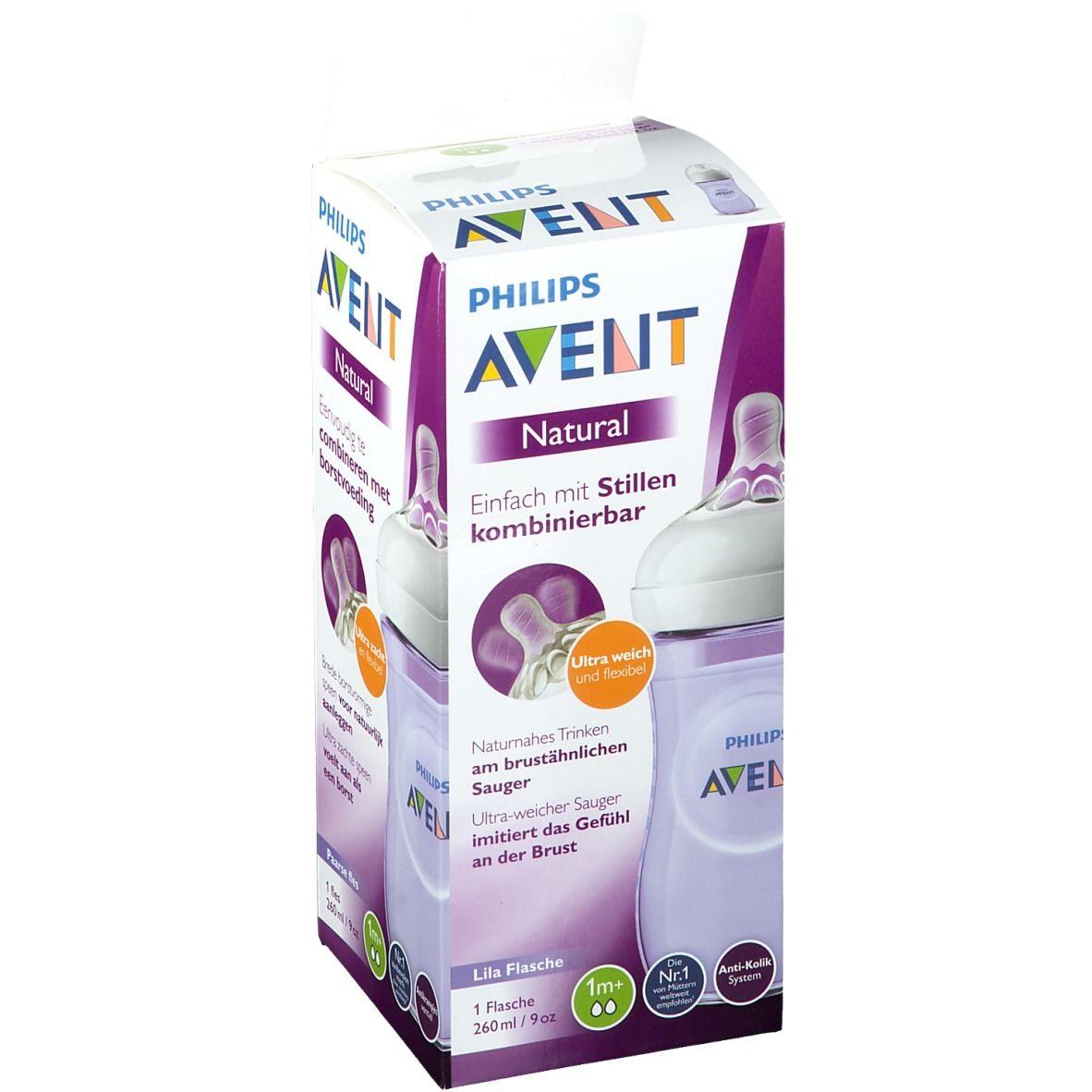 Philips AVENT Biberon natural Violet 260 ml