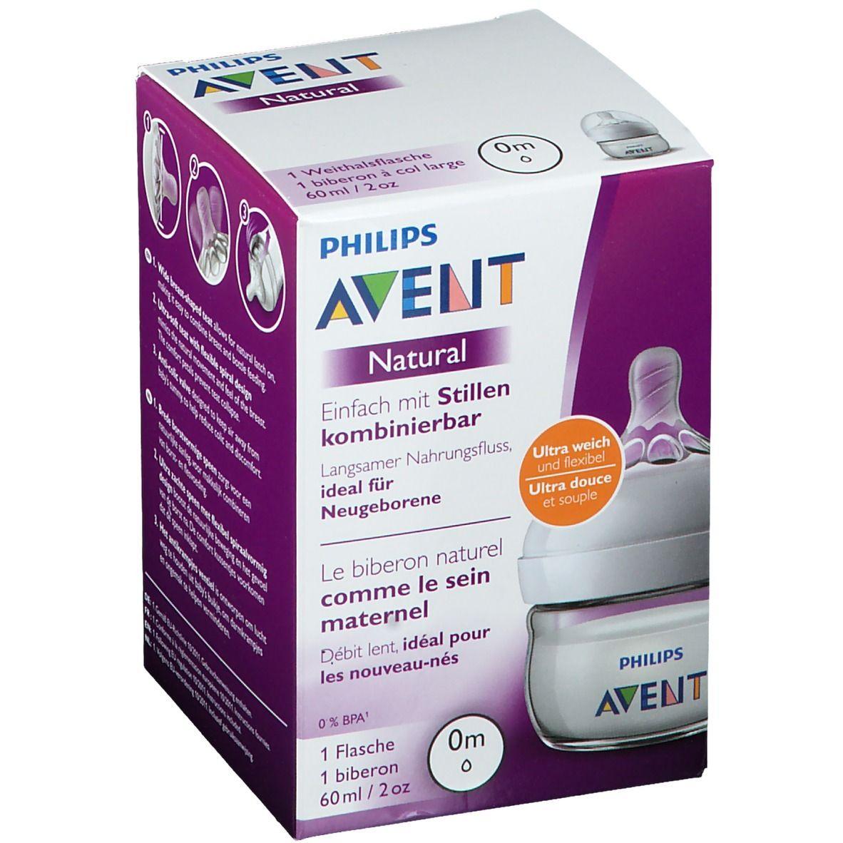 Philips AVENT Natural Biberon naturel 60 ml