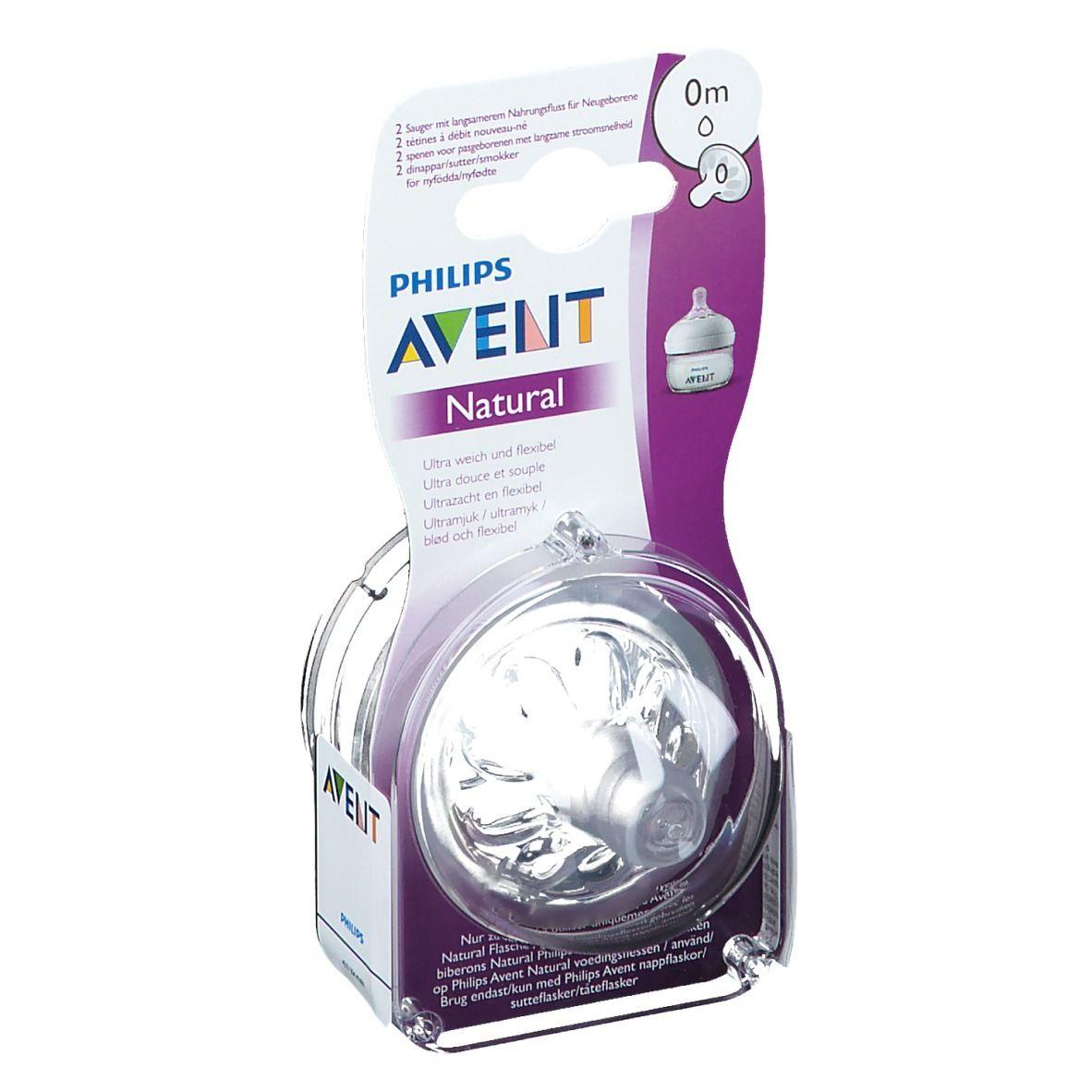 Philips AVENT Tétine Natural 0m+