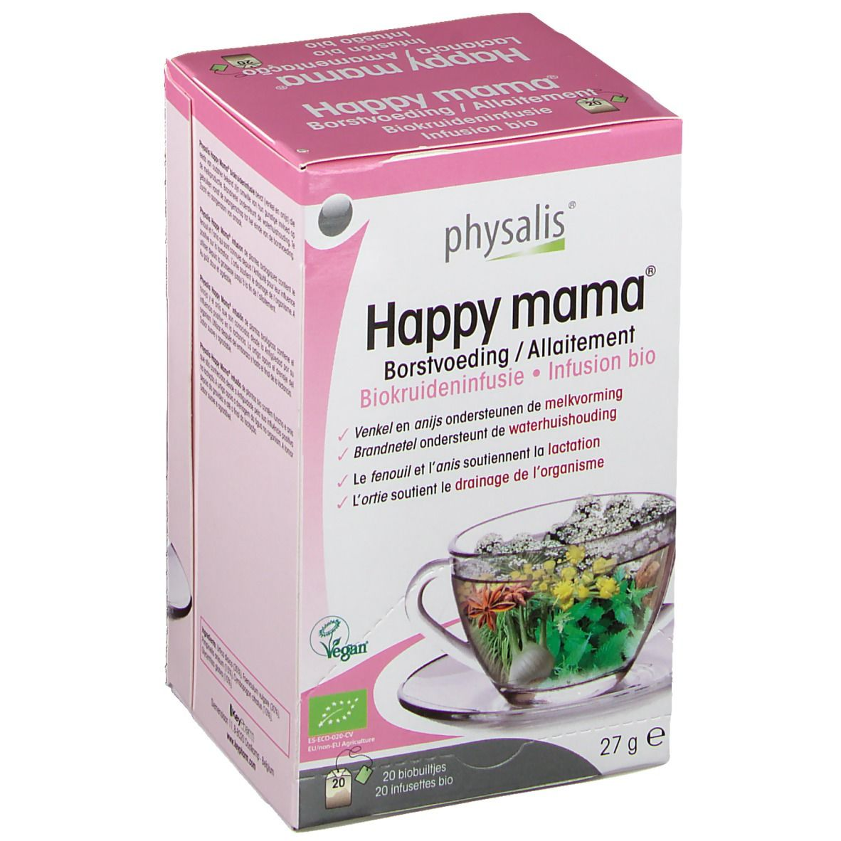 physalis® Happy Mama® Allaitement Infusion Bio