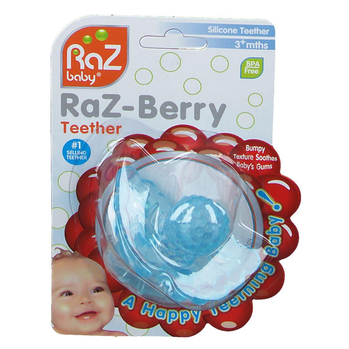 Raz Baby Anneau De Dentition Razberry Baby Bleu