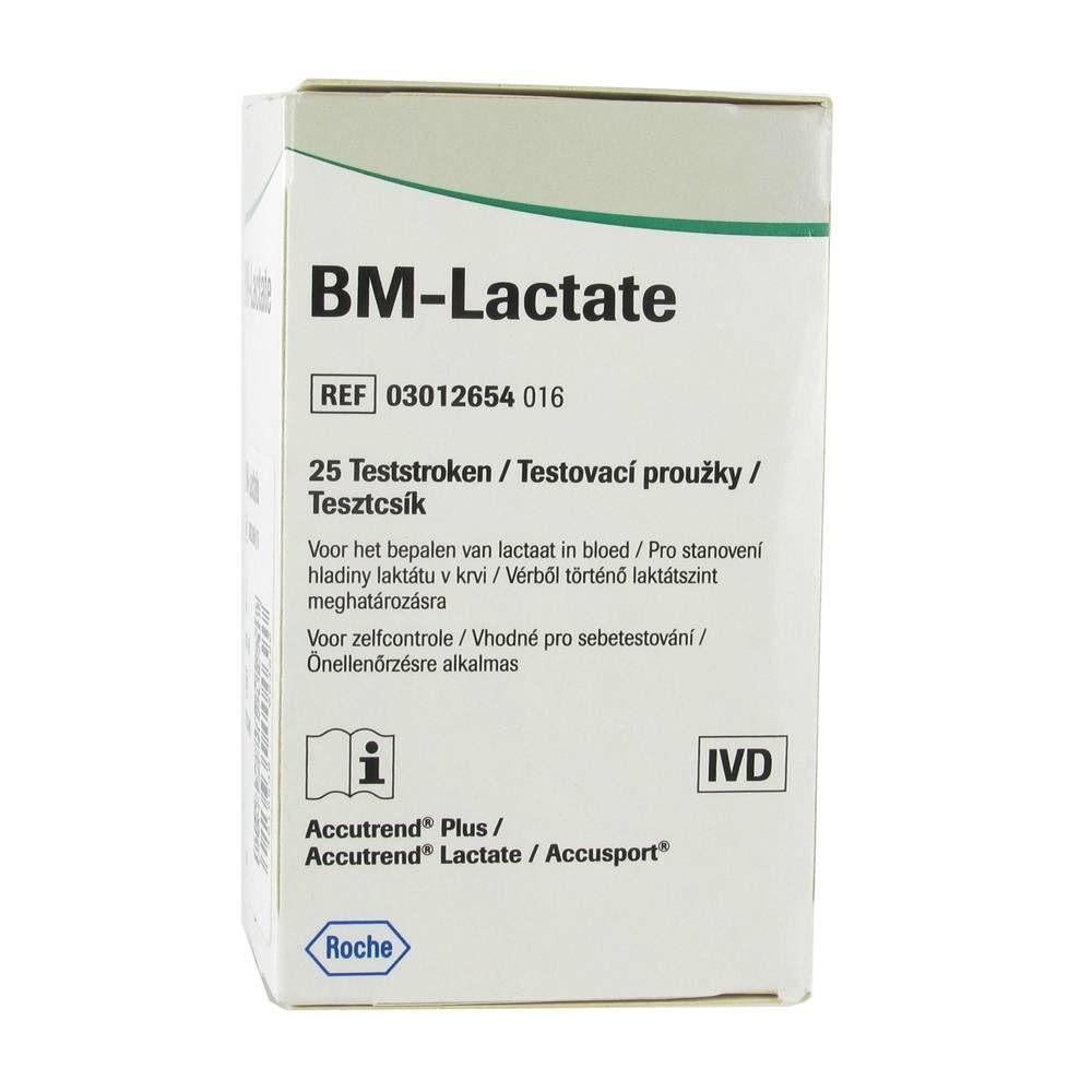 Roche Accutrend BM Lactate Bandelettes réactives