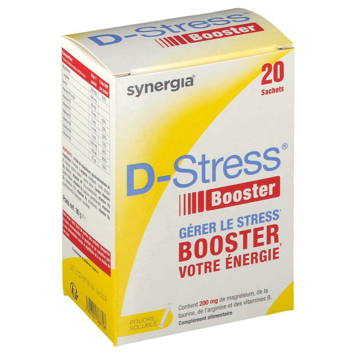 Synergia® D-Stress booster